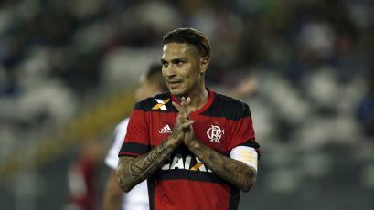 Flamengo suspendió el contrato de Paolo Guerrero
