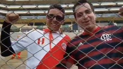 Copa Libertadores: hincha de Flamengo mostró su agradecimiento al Perú con enorme gesto (VIDEO)