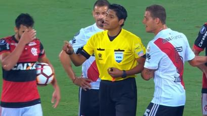 Flamengo vs River Plate: la penúltima vez que jugaron por Libertadores los árbitros fueron peruanos