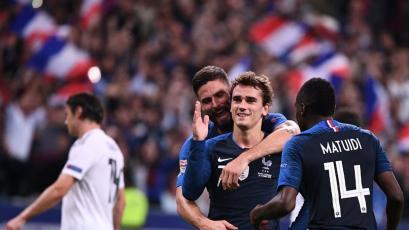 Francia superó 2-1 a Alemania por la cuarta fecha de la UEFA Nations League
