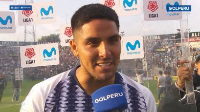Francisco Duclós tras vencer a Sporting Cristal: