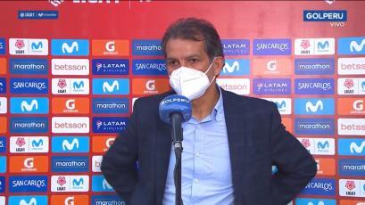 Franco Navarro celebró el triunfo de UTC sobre Alianza Lima: