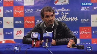 UTC: Franco Navarro fue muy crítico tras la derrota frente a Carlos A. Mannucci (VIDEO)