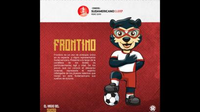 Frontino: conoce a la mascota oficial del Sudamericano Sub 17 Perú 2019