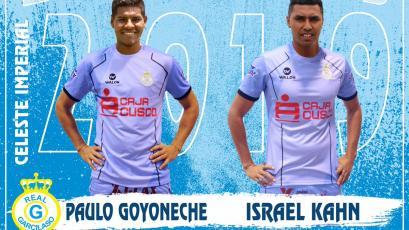 Real Garcilaso: Israel Kahn y Paulo Goyoneche ficharon por el equipo cusqueño