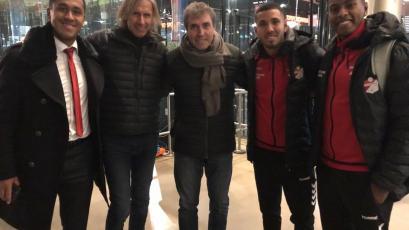Selección Peruana: Ricardo Gareca viajó a Europa y visitó a tres peruanos en Holanda