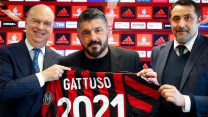 Genaro Gattuso renueva con el Milan hasta 2021