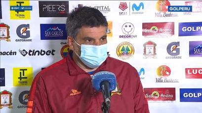 Gerardo Ameli tras la derrota de Ayacucho FC:
