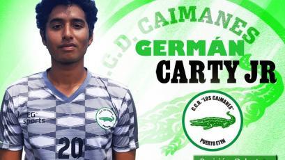 Germán Carty Jr. renovó contrato con Los Caimanes