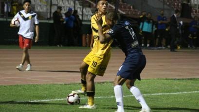 Gerson Barreto de la Academia Deportiva Cantolao: