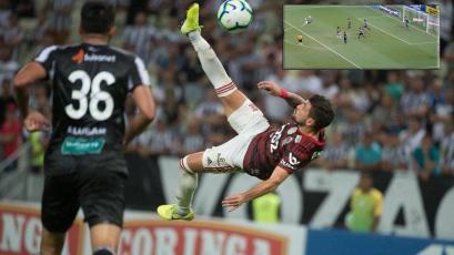 Flamengo: De Arrascaeta y su golazo de chalaca que seguro ganará el Premio Puskás (VIDEO)