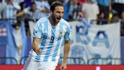 Gonzalo 'El Pipita' Higuaín anunció su retiro de la Selección Argentina