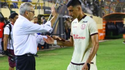Gregorio Pérez tras el empate de Universitario: