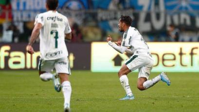 Copa Libertadores: Gustavo Scarpa se luce con un golazo inatajable con Palmeiras (VIDEO)