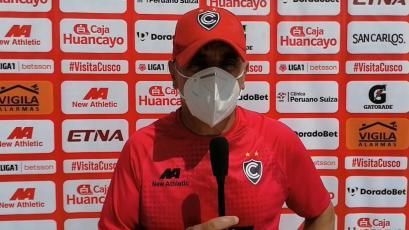 Marcelo Grioni tras el triunfo de Cienciano: