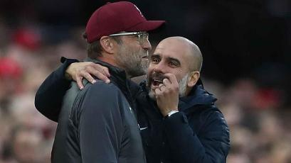 """Pep Guardiola bromeó tras goleada: """"Se habrán tomado unas cervezas, pero venían a ganar"""""""