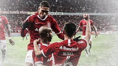 Paolo Guerrero e Internacional avanzaron a las semifinales de la Copa de Brasil