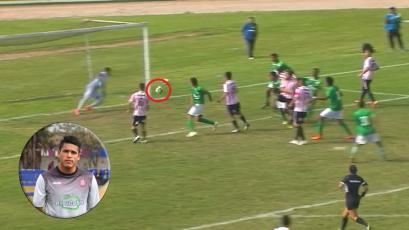 Liga2: arquero de Unión Huaral evitó gol cantado de Los Caimanes con impresionante tapadón (VIDEO)
