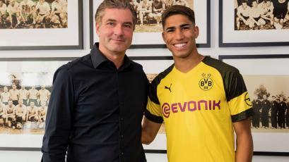 Hakimi Achraf se va cedido al Borussia Dortmund