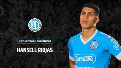 Hansell Riojas volvió a la convocatoria de Belgrano