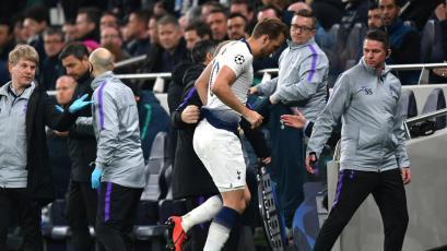 Harry Kane se dañó los ligamentos del tobillo