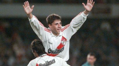 Hernán Crespo elogió a las figuras de Sporting Cristal que enfrentaron a River Plate en 1996