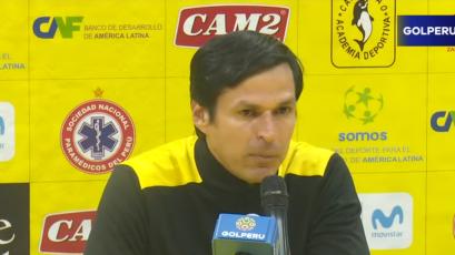 """Jorge Araujo: """"En el campeonato hemos ido de menos a más"""""""