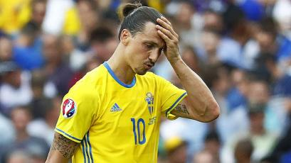 Zlatan Ibrahimovic quedó descartado para Rusia 2018