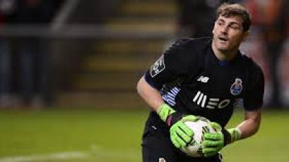 Iker Casillas fue hospitalizado tras sufrir un infarto en el entrenamiento del Porto