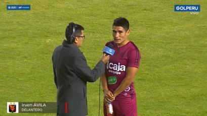 Irven Ávila tras su debut con Melgar: