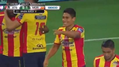 Irvén Ávila anotó tras asistencia de Ray Sandoval
