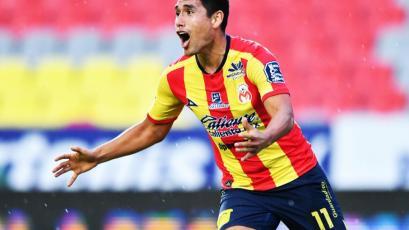 Irven Ávila marca su segundo gol con Morelia