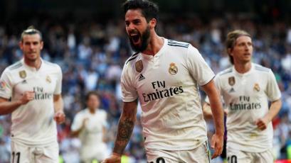 Real Madrid venció 2-0 a Celta de Vigo con goles de Isco y Gareth Bale (VIDEO)