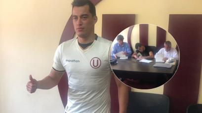Iván Santillán tras fichar por Universitario: