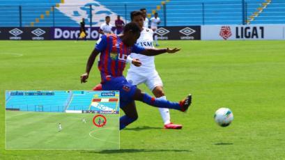 Alianza Universidad: Jack Durán pudo anotar el gol de su vida, pero... ¡falló sin arquero! (VIDEO)
