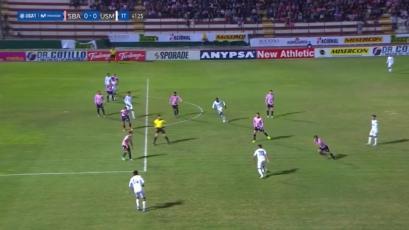 El gol anulado a Jairo Concha ante Sport Boys que generó los reclamos de San Martín (VIDEO)