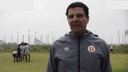 Javier Chirinos asume como DT de Universitario esta semana