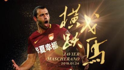 Javier Mascherano se une al Hebei Fortune
