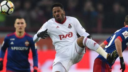Jefferson Farfán se lesionó en el primer tiempo y el Lokomotiv Moscú perdió luego de 10 fechas