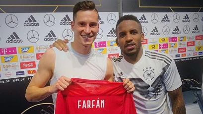Jefferson Farfán se reencontró con un viejo amigo de la Bundesliga