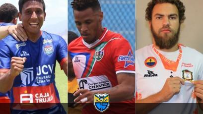 Liga1 Movistar: Jeremy Rostaing, Jesús Rabanal y Aurelio Gonzales Vigil ficharon por Carlos Stein