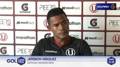 """Jersson Vásquez: """"Tenemos que reflejar el trabajo en el campo"""""""