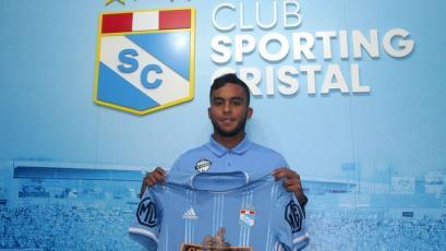 Liga1 Movistar: venezolano Jhon Marchán fue presentado en Sporting Cristal (VIDEO)
