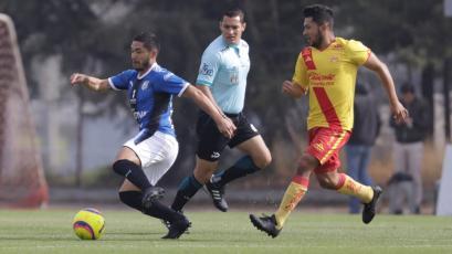 Joel Sánchez fue titular en la derrota de Querétaro ante Monarca Morelia Sub-20