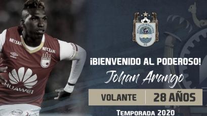 Johan Arango no jugaría en Binacional y ya tendría su tercer equipo en 2020 (VIDEO)
