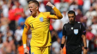 Inglaterra ganó el tercer lugar de la UEFA Nations League con el meta Jordan Pickford como figura