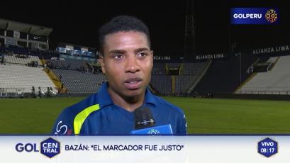 """Jorge Bazán: """"El marcador fue justo"""""""