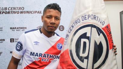 Jorge Obregón, nuevo jugador de Deportivo Municipal: