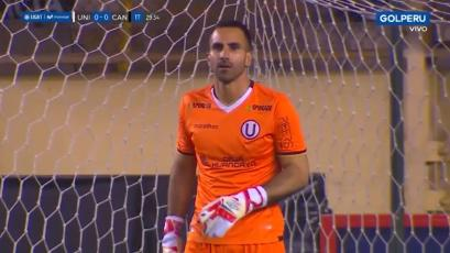 Universitario: José Carvallo y el gol de Cantolao que quebró su marca sin recibir goles en el Clausura (VIDEO)