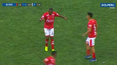 Cienciano vs. Atlético Grau: el golazo de José Cuero para abrir el marcador en Cusco (VIDEO)